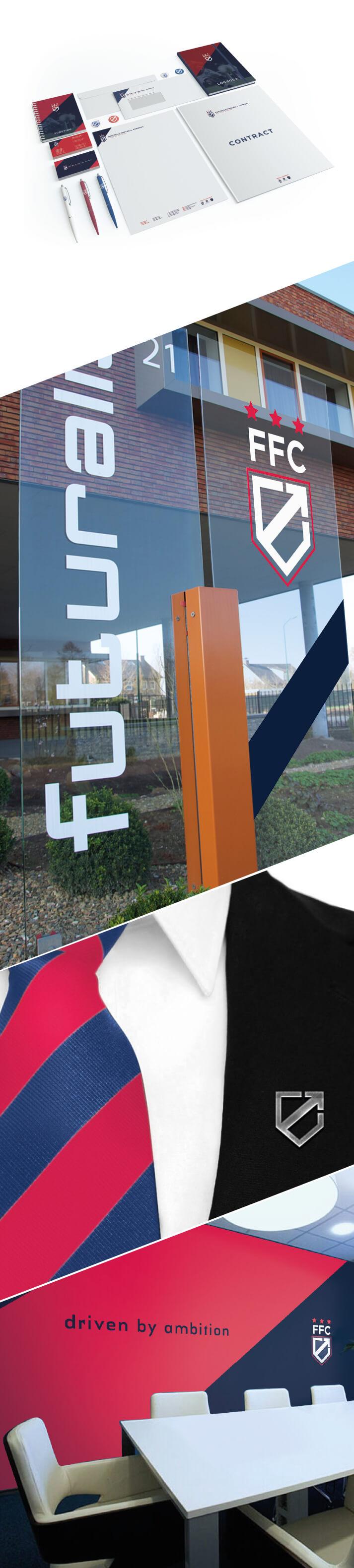 Futuralis Football Company corporate identity
